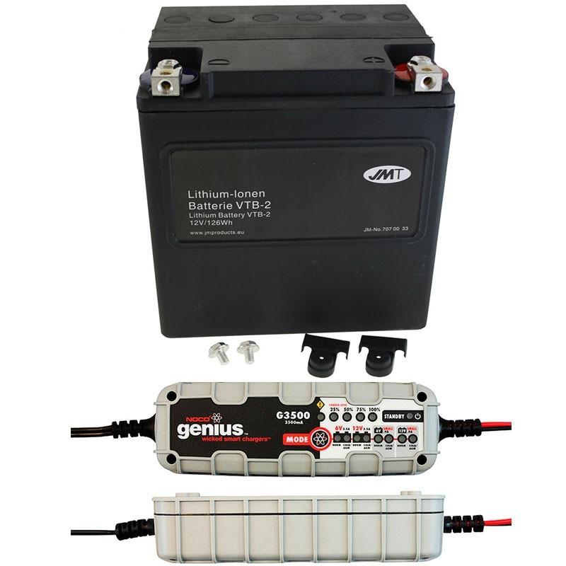 Bateria Harley BHD-2 66010-97C + Cargador NOCO G3500EU