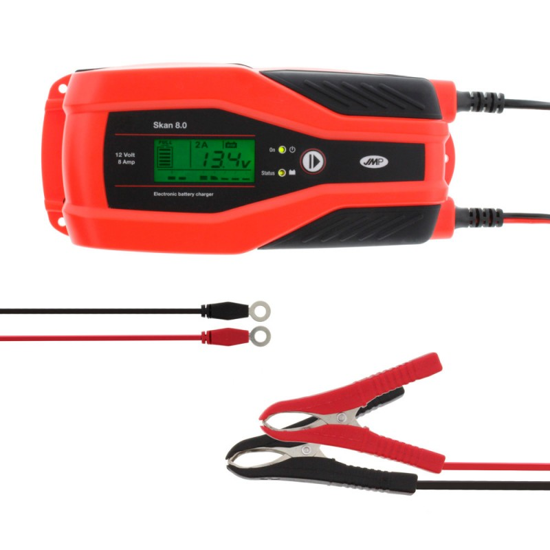 Cargador y Mantendor de Bateria JMP SKAN 4.0 CAN-BUS 12V 1A-4A*