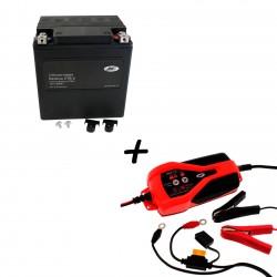 Bateria Harley BHD-2 66010-97C + Cargador JMP SKAN 1.0 Litio