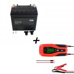 Bateria Harley BHD-3 65958-04A + Cargador JMP SKAN 8.0 Litio