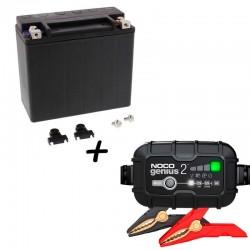 Bateria Harley BHD-1 65989-97C + Cargador GENIUS2 Litio