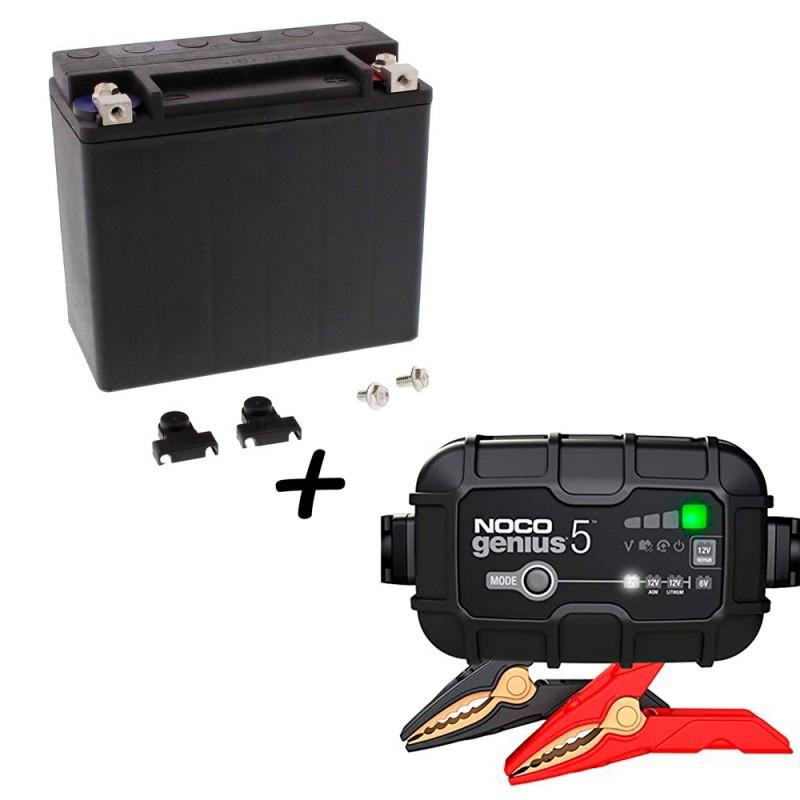 Bateria Harley BHD-1 65989-97C + Cargador GENIUS5 Litio