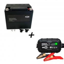 Bateria Harley BHD-2 66010-97C +  Cargador GENIUS2 Litio