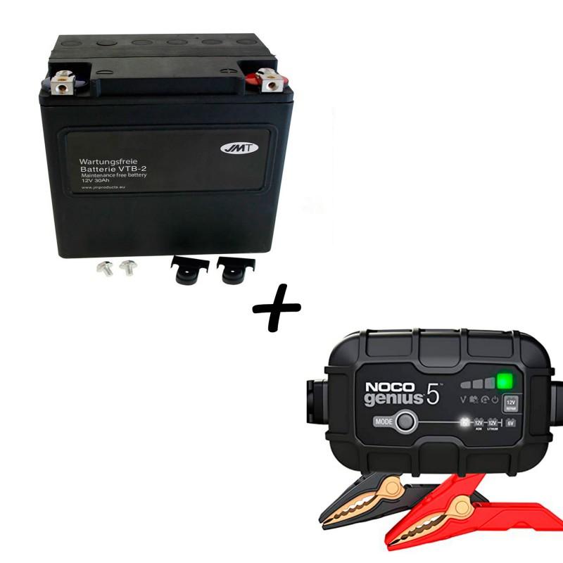 Bateria Harley BHD-2 66010-97C +  Cargador GENIUS5 Litio