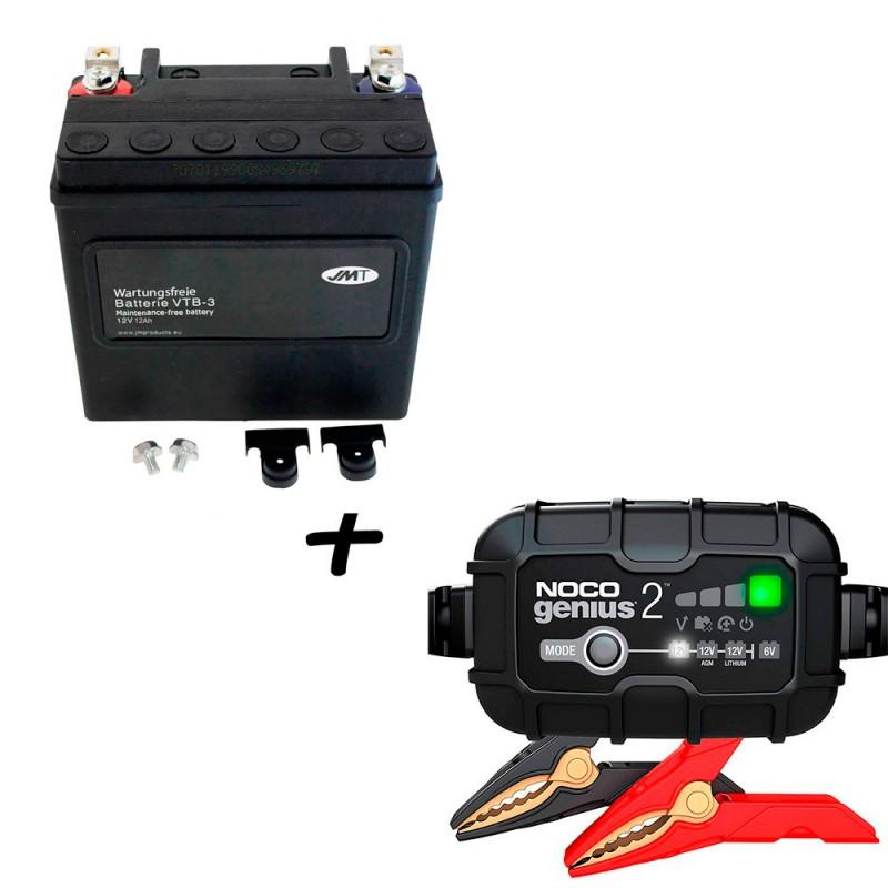 Bateria Harley BHD-3 Litio 65958-04A + Cargador GENIUS2 Litio