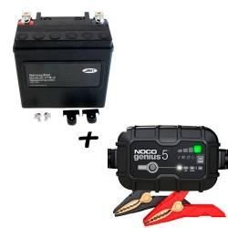 Bateria Harley BHD-3 Litio 65958-04A + Cargador GENIUS5 Litio