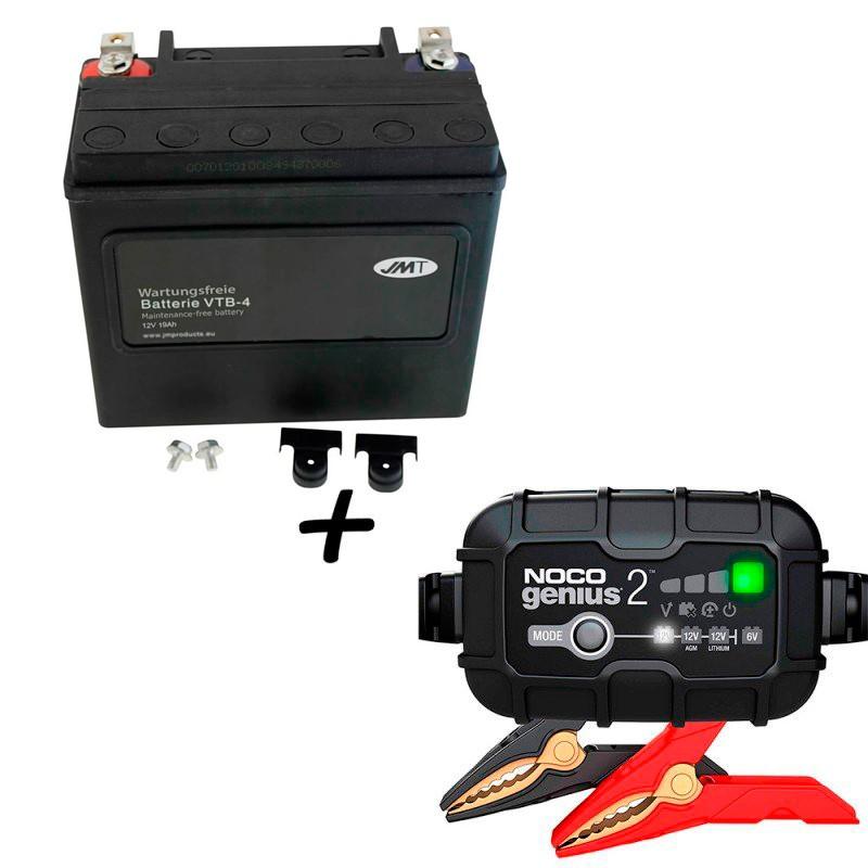 Bateria Harley BHD-4 65989-90B +  Cargador GENIUS2 Litio