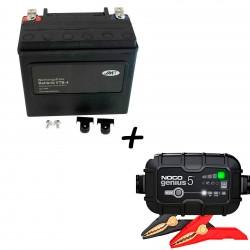 Bateria Harley BHD-4 65989-90B +  Cargador GENIUS5 Litio