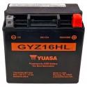 Bateria Yuasa GYZ16HL para  Harley Davidson equivalente 65958-04A
