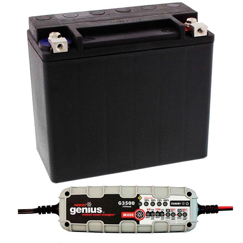 Bateria Harley BHD-1 65989-97C + Cargador NOCO G3500EU
