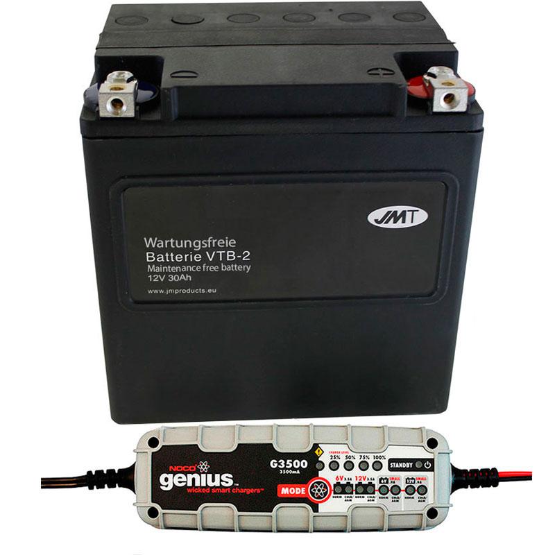 Conjunto de cargador mantenedor de batería para Harley